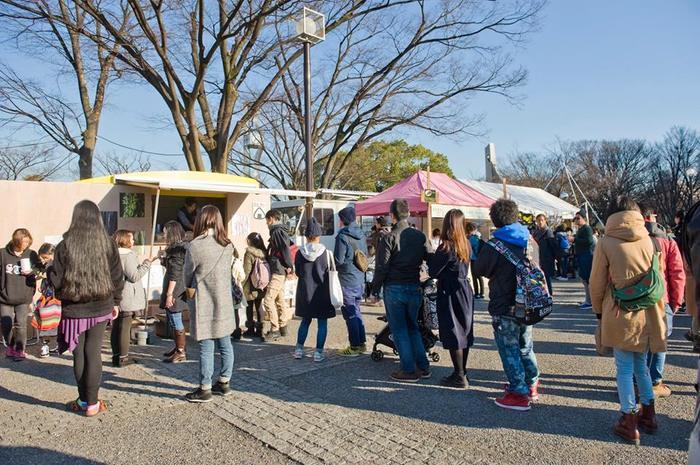 こちらは東京の代々木公園で行われたLOVE FOR NIPPONのイベント『CANDLE11th』に参加されたときの様子です。