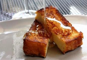 こちらのブリオッシュでつくるフレンチトーストは絶品です!!