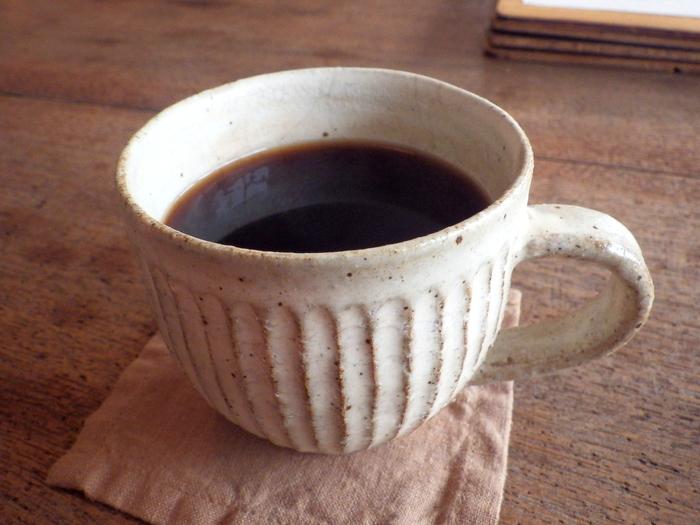 コーヒーは同じく長沼町にあるカフェ「珈琲考房」の豆を使用しています。地産地消にこだわったお店の味をぜひ楽しんでみてください。