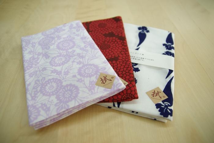 「bento」をプロデュースした「nugoo」は、注ぎ染め手拭いの専門店です。