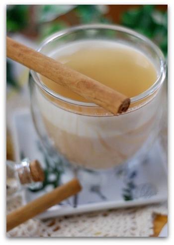 ただのミルクプリンじゃありません。色んなスパイスを使ったチャイが効いています。さらに、香り高いメープルシロップをかけていただけば、何だか優雅な気分になれそうです。