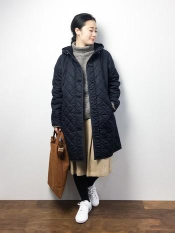 MACKINTOSH(マッキントッシュ)と言えば、キルティングコートが思い浮かぶ方も多いハズ!?暖かくて軽いので真冬にも重宝してくれますよ。
