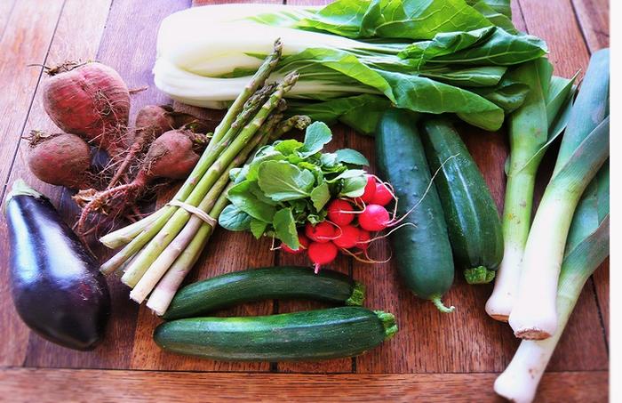 1日の摂取目標は「350g」。野菜をたくさん、おいしく食べるレシピ手帖♪