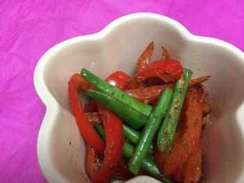 山椒の利いた七味は大人な和のスパイス。こちらも常備菜におすすめです。