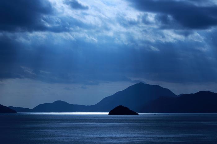 また、島からの景色もとっても素敵です。うさぎと遊び疲れたら、海を眺めながらのんびりと休憩してもいいかもしれませんね。