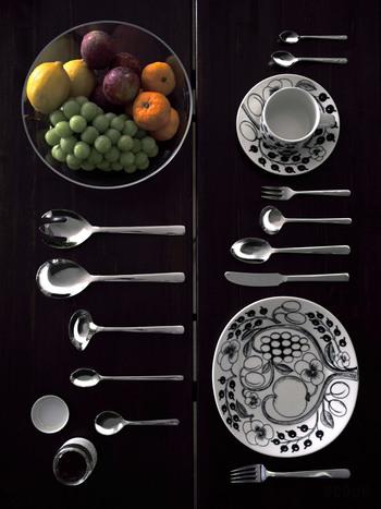 ■KAY BOJESEN / Cutlery 777円~  デンマーク王室で使われているカイ・ボイスンのカトラリーは、北欧デザインでありながら、実は日本で製造されているため、安心品質で価格もお手頃なんです。 用途に合わせた多彩なバリエーションにも注目!