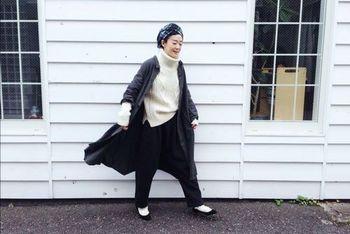 気持ちが引き締まるよう。「黒」と冬のファッションアイテム
