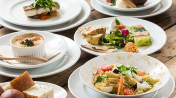 カジュアルイタリアンなメニューとなっており、良質なお野菜をふんだんに使用しています。