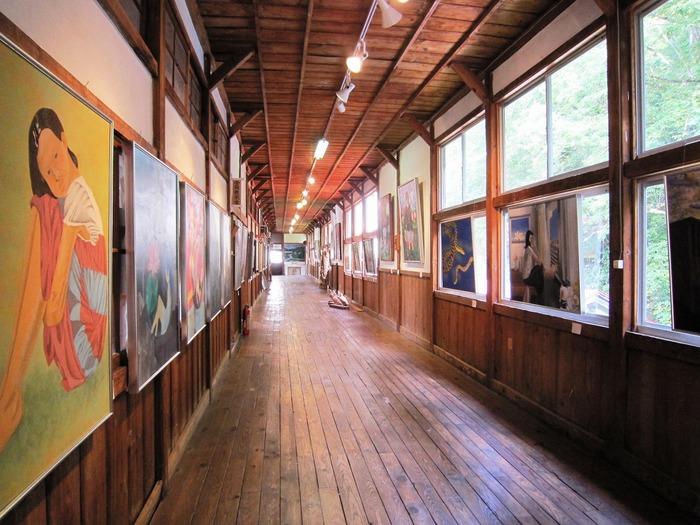 山の中のアートギャラリー*西会津国際芸術村*