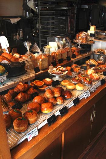 """""""イギリスの食パン""""をコンセプトに作られたパンは、飽きずに毎日食べられるようなベーシックなもの。"""