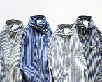 きっと、ワードローブの定番になる。1枚は持っていたい「maillot(マイヨ)」のシャツ