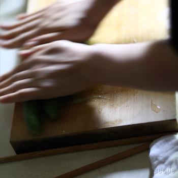人々に手厚く保護され、長い年月をかけて成長してきた木曽ひのき。この木が江戸時代からこの日本にあったものだと思うと、なんだか心がときめきますね。