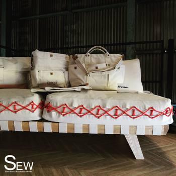 テントやトラックシートなど、防水布としての帆布製品を作り続けてきた「佐藤防水店」は創業60年の老舗。タフでシンプルなものづくりが魅力です。