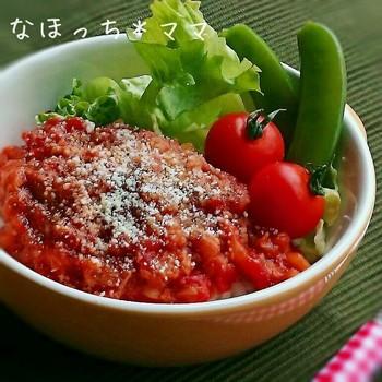 忙しい時にピッタリ。トマトとツナの鉄板の組み合わせ。簡単にできて美味しいって、最高ですね。