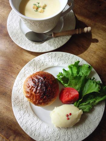 朝食にも活躍するマッシュポテト。
