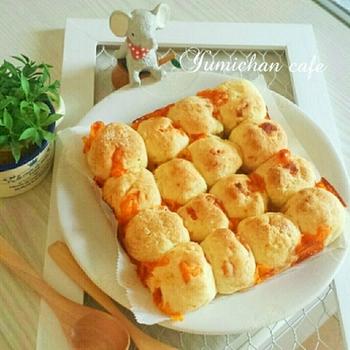 こちらも豆腐を使ったレシピです。ココナッツオイルを使って、ちょっぴりヘルシーに。ベビーチーズをプラスするだけで、また違った味わいが楽しめますよ。