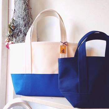 シンプルな帆布のトートバッグを提案するブランド「daisyhill (デイジーヒル)」。