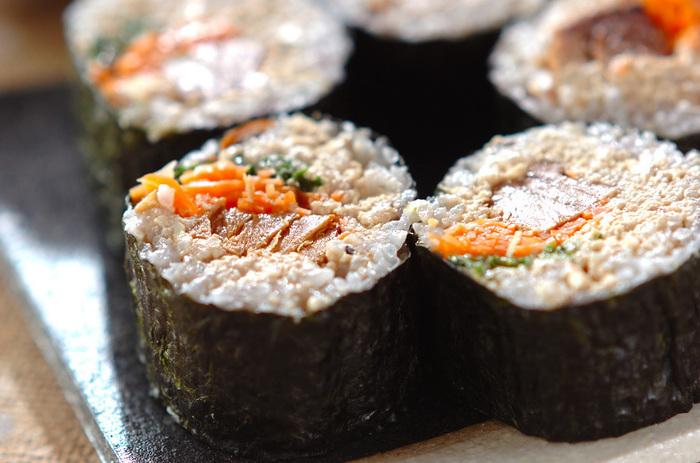胡桃を入れたソースがきめて!豆腐入りでダイエット中にも嬉しい一品。休日のランチなどにいかがでしょう。