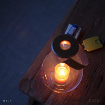 虫除けタイプのキャンドルを灯せば一石二鳥。もちろんお家の中でも贅沢な癒しの空間を演出してくれます。火をつけずにそのままでもインテリアとして楽しめます。
