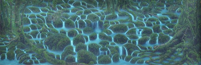 ●生きる―水の森―  屋久島の森の風景に高田裕子さんの想像を交えて。自然を慈しむ気持ちが伝わってきます。