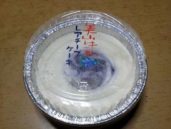美山牛乳レアチーズケーキも、美山でぜひ味わいたいスウィーツです。レアチーズケーキの中央に乗せられたブルーベリーが濃厚でまろやかなチーズの美味しさを引き立てています。