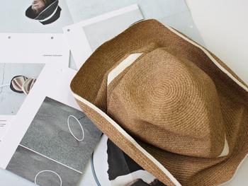 """そんなマチュアーハの""""BOXED HAT""""。このクシュッとした形が特徴です。"""