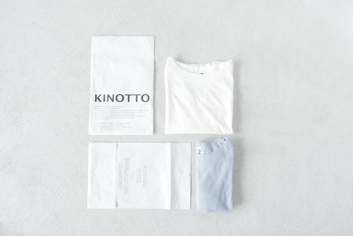 優しい着心地がクセになる。色違いで揃えたい「KINOTTO(キノット)」のカットソー