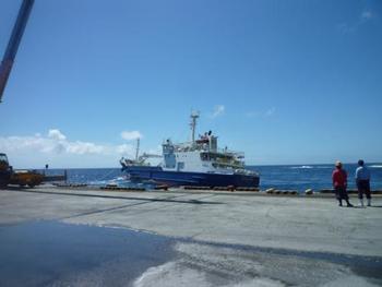 青ヶ島周辺の海は黒潮の影響で荒れることが多く、船がダイヤ通りに運航されないこともあるため、注意が必要です。乗り物酔いをする人は、船は避けた方がよいかもしれません。