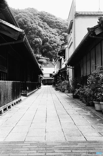 重要文化財や史跡が軒を連ねる本町通りから一歩裏路地に入ってみましょう。古い町屋、格子窓、静かな路地は、江戸時代の面影を色濃く残しています。ここでは、数世紀前から時間が止まっているかのような錯覚を感じます。