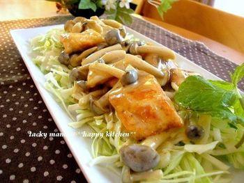 手作りマヨネーズを全体にからめて、野菜と一緒に召し上がれ!お子さんも喜ぶ、ご飯が進む一品。