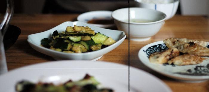 食事の途中、少し食べるのに疲れたのならば一息つけばいいものを、キュウリの浅漬けでさっぱりしたり、美味しく煮て、一度冷ましてあるひじき煮を口に運んだり。ついつい「箸休め」の品に手が伸びますね。