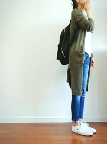 ワードローブに一着は欲しい!「ロングカーデ」着こなし◎コーディネート集
