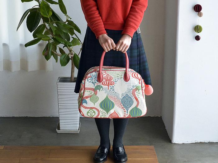 北欧薫るレトロポップな柄に夢中!ママも嬉しい「Littlephant(リトルファント)」 のバッグ