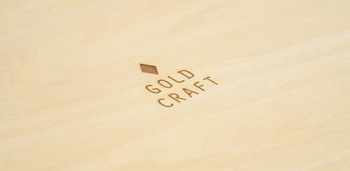 落としても、水に濡れても大丈夫◎「GOLD CRAFT」の木製食器