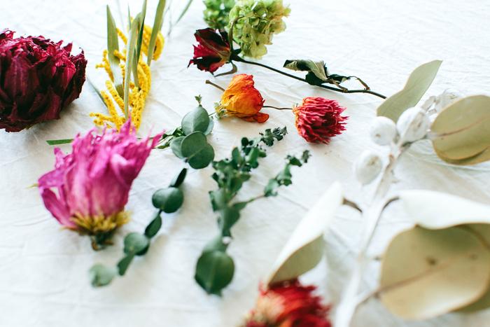 ドライフラワーとフローラで、長く花を愛でる生活―scope×キナリノモールオープン記念特別企画―