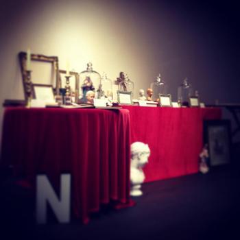 こちらは、2013年夏に行われた京都・恵文社での展示会の様子。会場では試食も行ったようです!ロマンティックな雰囲気が写真から伝わってきますね*