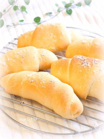 材料も作り方もシンプルなので塩パン作りにハマる人急増中です!