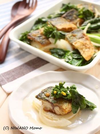 ちょっと意外な組み合わせ、だけど子供が喜びそうなカレー味♪これなら、お魚が苦手なお子さんも食べてくれるかもしれませんね。野菜もたっぷりで健康的なレシピです。