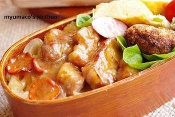 味噌味が、ジュワーッと甘くてご飯がすすみます!冷凍での保存もOKなのでたくさん作っておきたいですね。