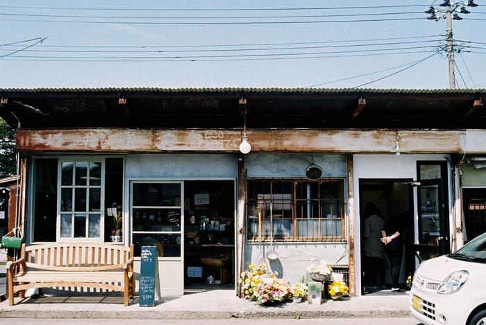 自家焙煎のコーヒーと手作り焼き菓子のお店「HOSHINO koffee & Labo.(ホシノコーヒーアンドラボ)」。