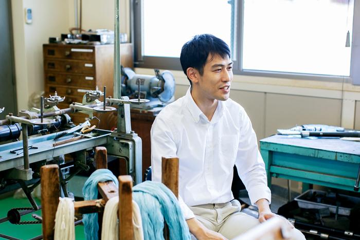 横田株式会社の代表取締役・横田宗樹(もとき)さん