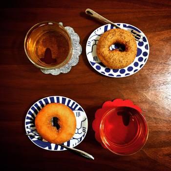 およそ12センチほどの大きさなので、お茶時にもお食事時にも使い道は様々です!