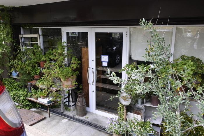 花と緑に囲まれたナチュラルで素敵な「アオイクカフェ」。 ゆったり心地良い時間が過ごせて、おいしいごはんやドリンク、スイーツがいただける人気のカフェです。 オープン前から行列が出来る日も。
