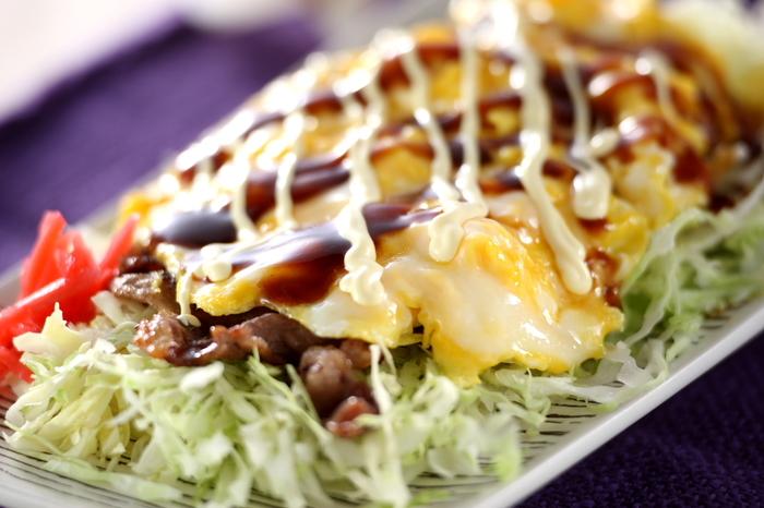 お好み焼きより簡単!キャベツがたっぷり食べられるのに、サラダじゃない技ありの一品です。