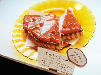 フランス・ロワール地方伝統のお菓子タルトタタンなども販売されています。