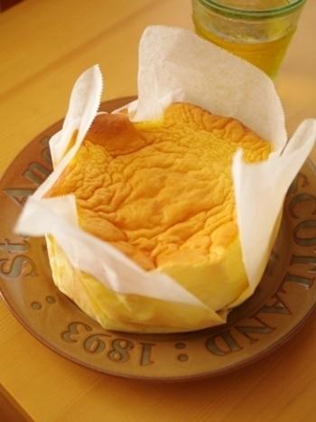 夏みかんのはちみつ漬けを加えているので、とてもサッパリ、さわやかな仕上がりです。柑橘系のはちみつ漬けでアレンジも可能ですね。