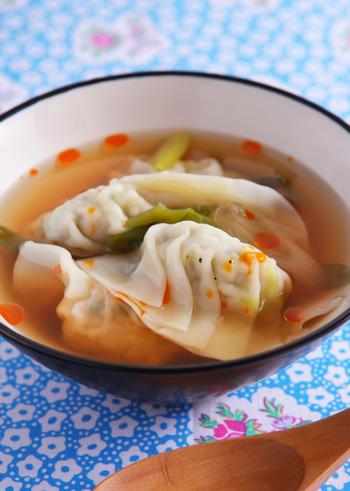 ちょっと疲れたなぁと思った時にオススメのレシピ。ボリュームがある温かいスープは、体を芯から温めてくれます。