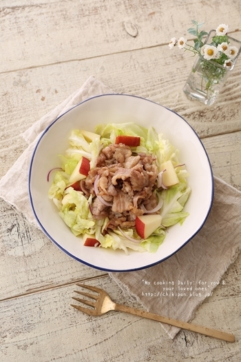 お野菜たっぷり。一皿で女性に嬉しい栄養満点なのに、低カロリーで一石二鳥。