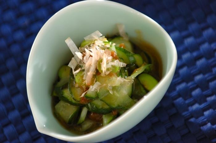 おなじみの味に枝豆を加えると新鮮なメニューができました。夏に食べたくなるさっぱりした漬物です。