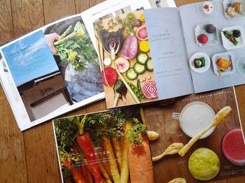 写真を眺めているだけでも、野菜そのものの美しさにため息がでてしまいそう。手の込んだレシピから、簡単に手軽に作れるレシピまで幅広く紹介されています。